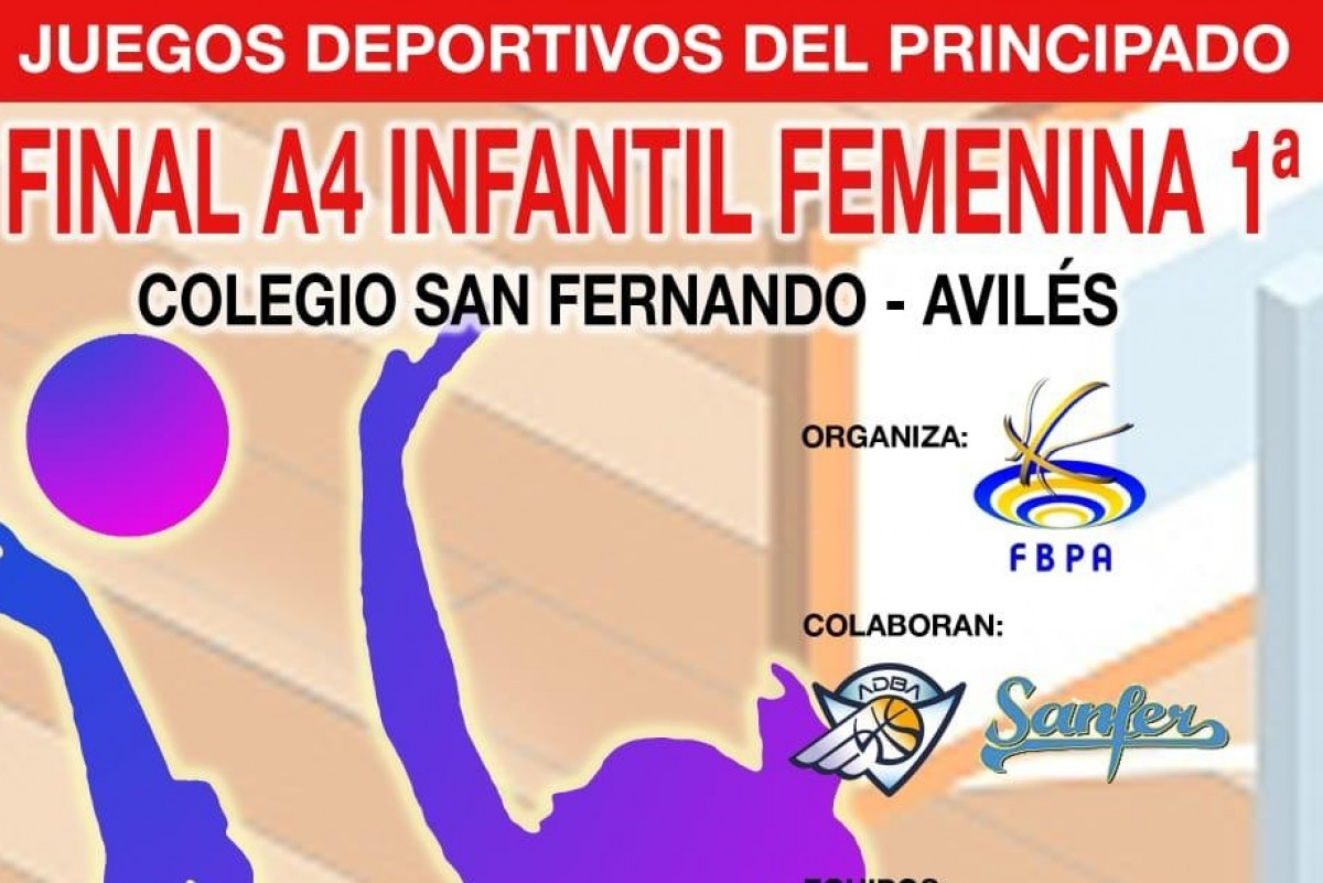 FINAL A 4 INFANTIL FEMENINA 1º